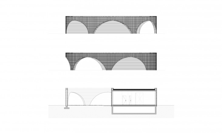 luchtbal | facades and section