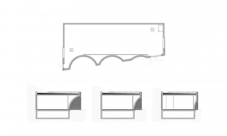 tjalkstraat | plan and sections