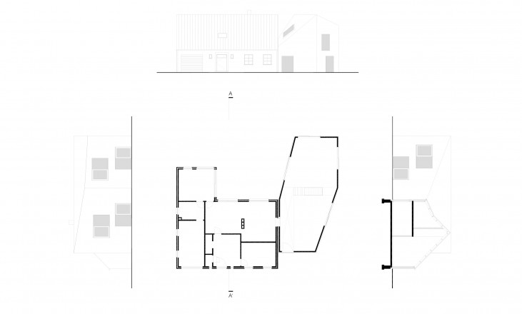 plan and facades