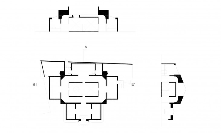 plan and sections